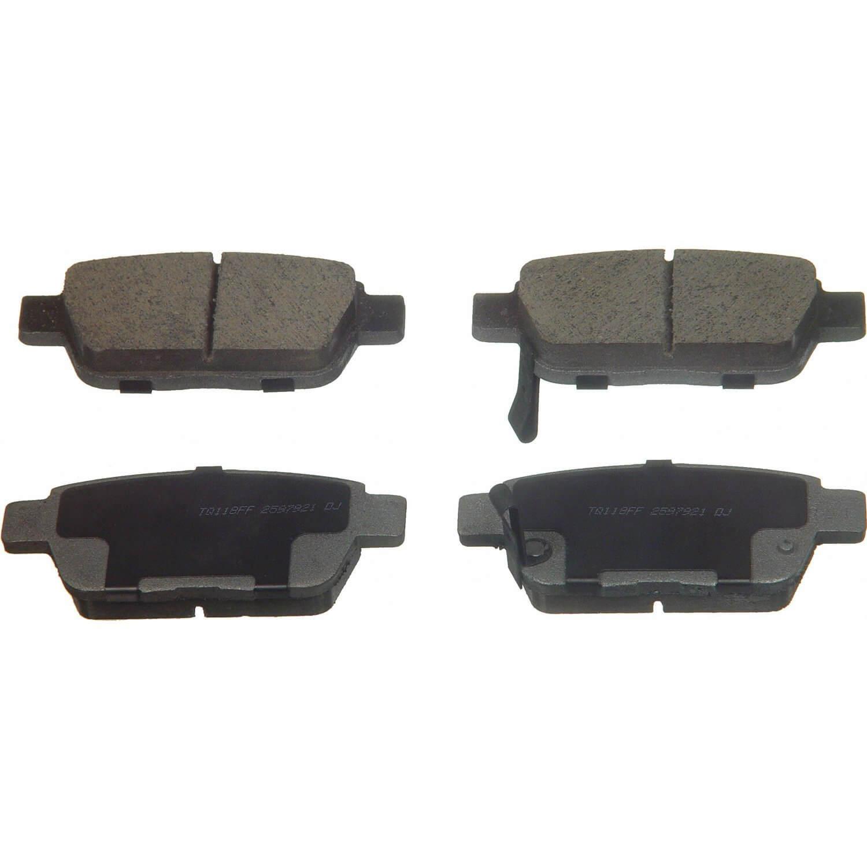 SCT Rear Brake Pad SPK Kamsiparts - Acura tl brake pads