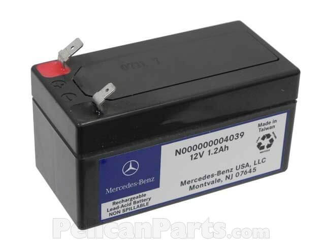 Mercedes Benz Auxiliary Battery 12V 1 2Ah 000000004039
