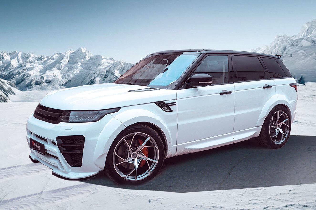 Renegade Range Rover Sport Aerodynamic Body Kit Rng Rrsbkt Kamsiparts